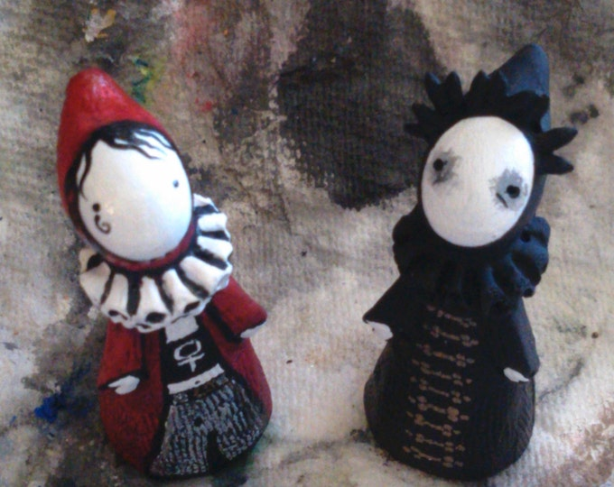 Retired Edition -Death and Dream - Sandman Poppet Pair Only 2 left!
