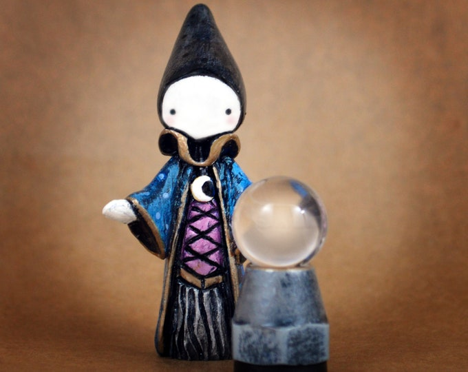 Reserved for Tif. Hold/Layaway Poppet's Mystic Orb- Lisa Snellings