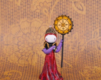 The Poppet Tarot - The Wheel of Fortune