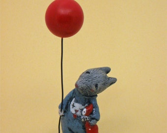 Goodbye Kitty, Rat with balloon and PJ's
