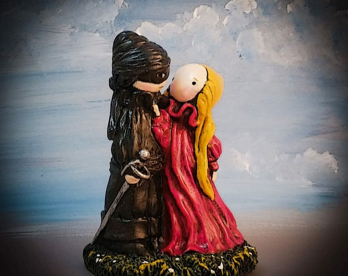 """The Princess Bride - """"As You Wish"""" Limited Edition Poppet sculpture"""