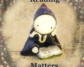 Reading Matters - 12 x 12 Poster