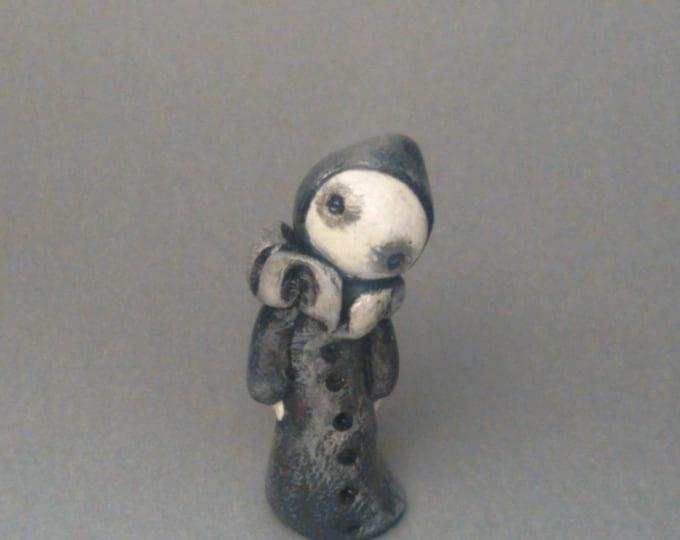 Mini Poppet in Black  - By Lisa Snellings