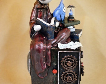 The Incredible Shrinking Bibbit - Limited Edition Sculpture by Lisa Snellings