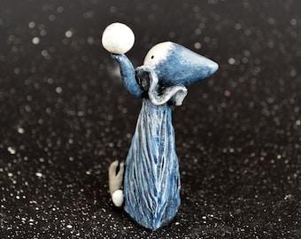 The Poppet Tarot - The Moon