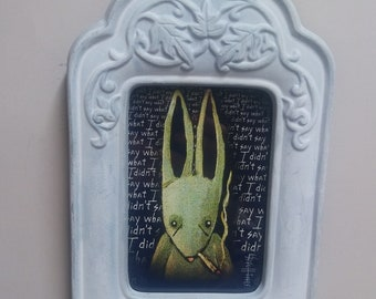 Regret is a Rabbit - Framed Limited Edition Print #31/250