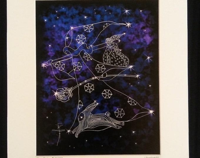 The Cosmic Fool Limited Edition Tarot Print