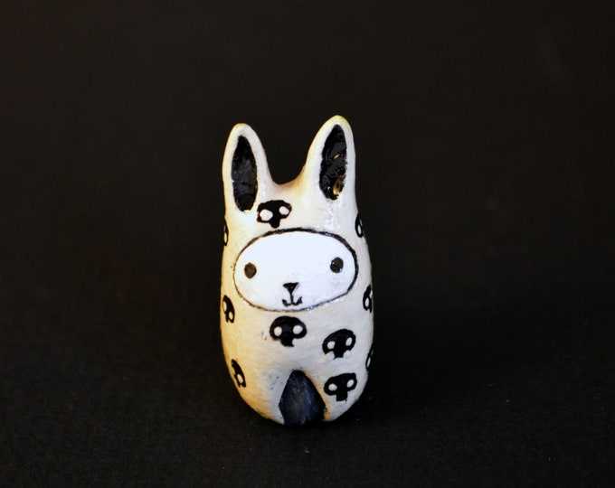 "NEW! Bibbit with Tiny Skulls - Special ""Meet Bibbit"" Price!"
