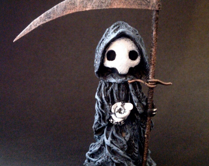 """Tarot Poppet - """"Death"""" Limited Edition Tarot Poppet  by LSnellings (Patron coupon applies)"""