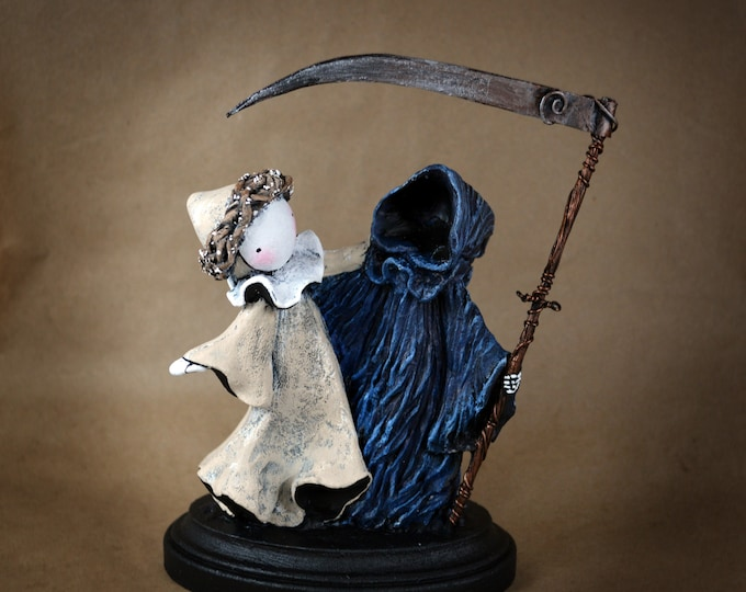 Poppet Danse Macabre - Limited Edition Sculpture by Lisa Snellings