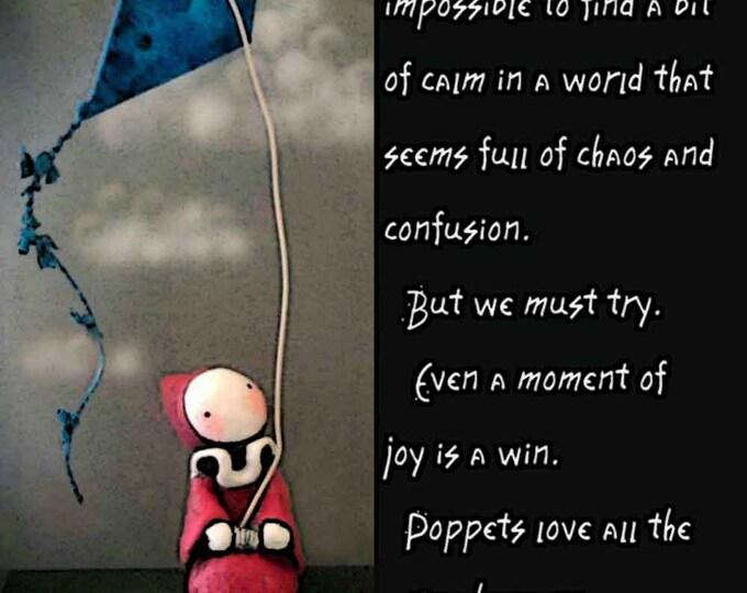 Finding Joy - Mini Poster  - Inspirations, Sharing, Gifting, Fun