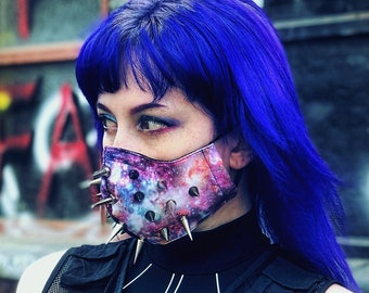 Space Face Mace Mask