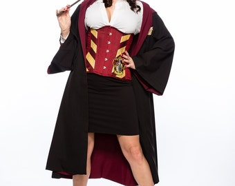 Wizarding Lion Long Line Corset