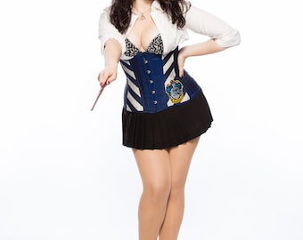 Wizarding Eagle Long Line Corset
