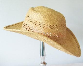 98a2260a0a0 Western Cowboy Straw Hat