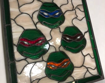 The 4 ninja turtles