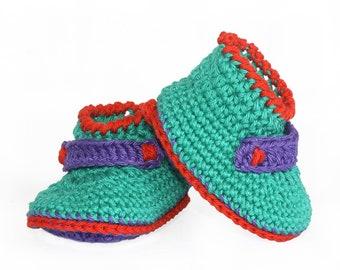 Baby Booties Crochet Pattern, Crochet Baby Shoes Pattern, Digital PDF download