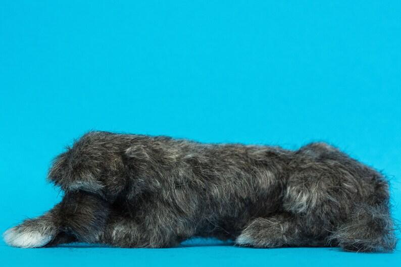Dollhouse Miniature Laying Sleeping Irish Wolf Hound Artist image 0