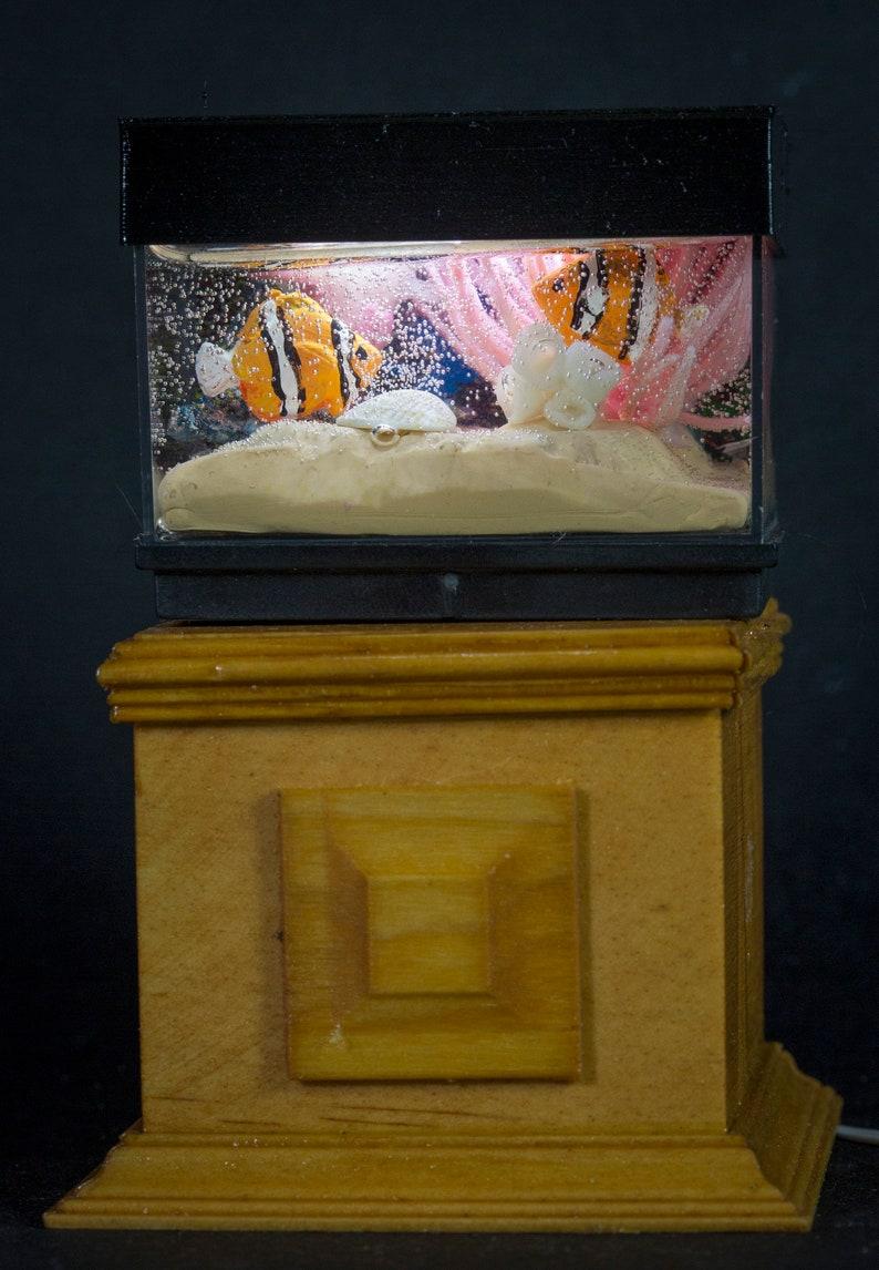 Dollhouse Miniature Goldfish Tropical Salt Water Clown Fish image 0