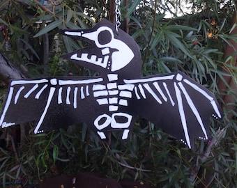 Bird Crash Preventer: Stop Bird Strikes with Double-Sided Bird Protection Metal Sign