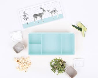 Lunch Box (Bento Style) - Forest Folk