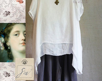 Phoebe TG-A3121 Sewing Pattern 2 pcs. by Tina Givens- Lagenlook Style!