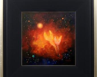 Angel Print Framed Art, Guardian Angels, Celestial Angel Decor, Spiritual Art, Wall Art, Angel Decor