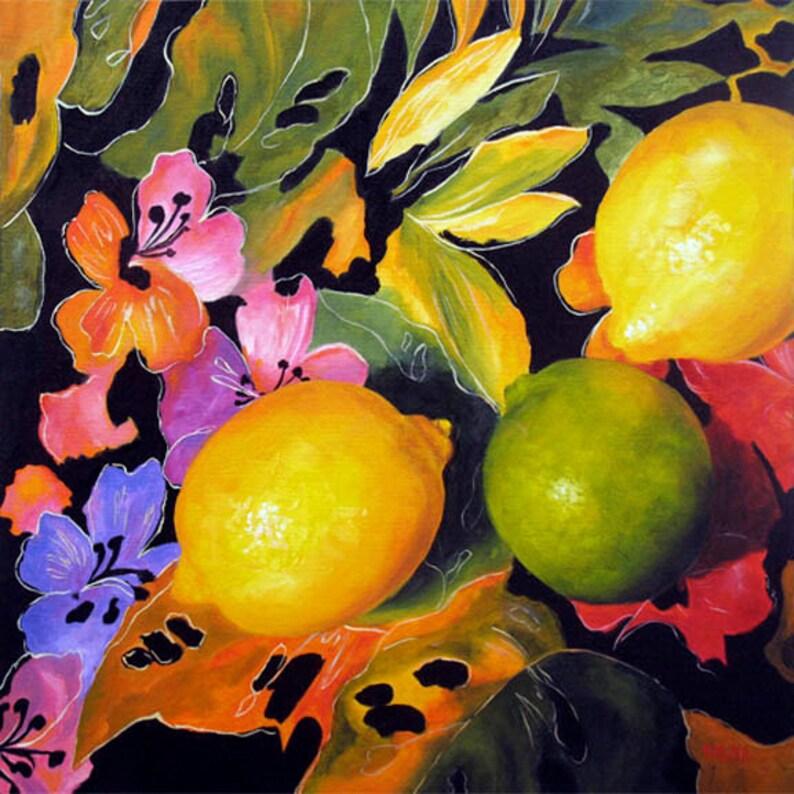 Still Life Oil Painting Still Life Fruit Flower Painting image 0