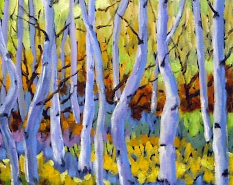 Rigaudon Of Aspen Oil Painting created by Prankearts