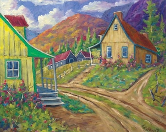 House of Louis original painting oil paintings created by Prankearts