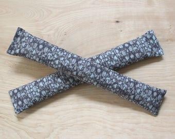 Bio sommeil lavande Sachets, gris galet Nature Decor, cadeau d'anniversaire de coton