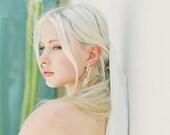 Nanci Grande: art deco / crystal / statement / drop earrings