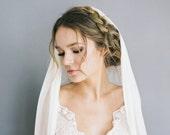 """Silk tulle wedding veil """"Alice"""""""