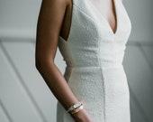Sunnie - Art Deco Motif Wrap Bracelet