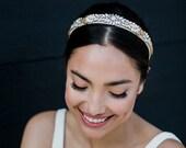 Jasper - Beaded Bridal Headband