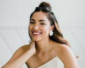 Lola Stud - Modern & Sweet Floral Laser Cut Earring
