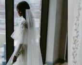 Cara Elegant & Beautiful Intricately Beaded Veil