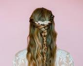 Sassy Ivory & Crystal Comb