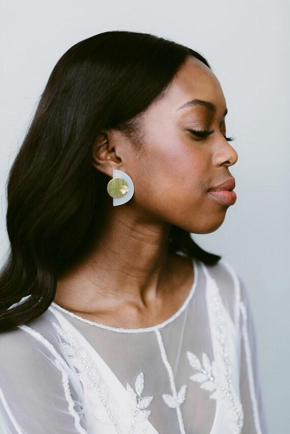 Kenzie Geometric Laser Cut Earrings  474f2588ab