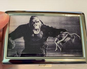 Original King Kong vintage Cigarette or Card Case or Wallet