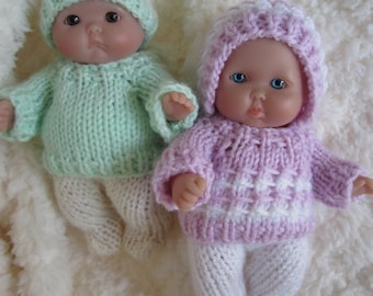 Doll Clothing Knit Pattern Berenguer Baby Doll Carrying Cape Etsy