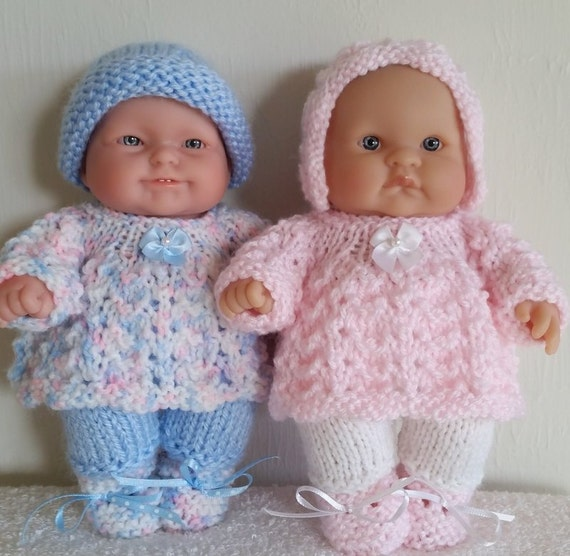 Rompers Angel Top Knitting Pattern Photocopy Baby Dolls Clothes Bonnet Boots