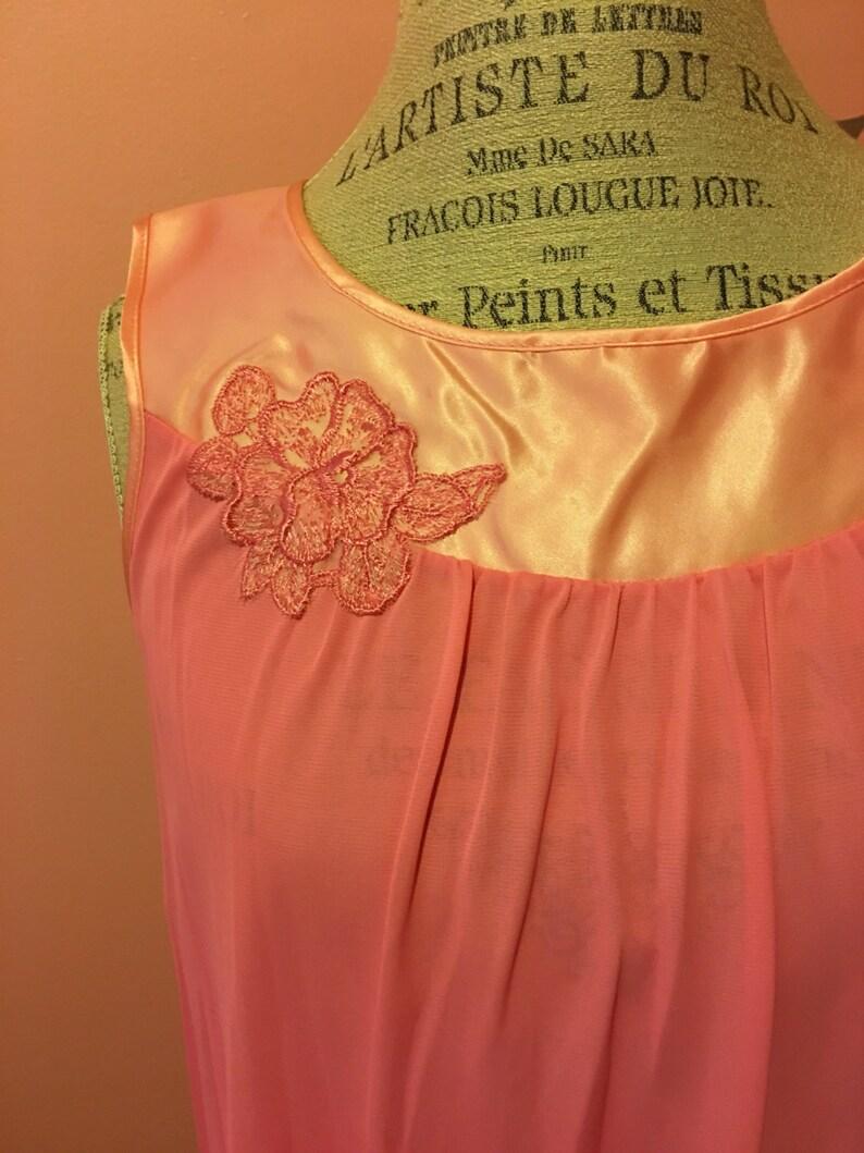 Vintage pink lingerie set