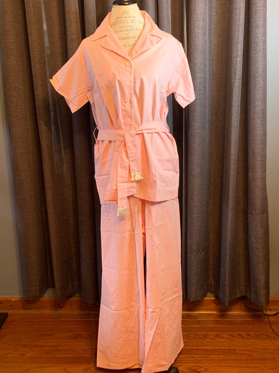 Vintage Jamarettes pink pajama set