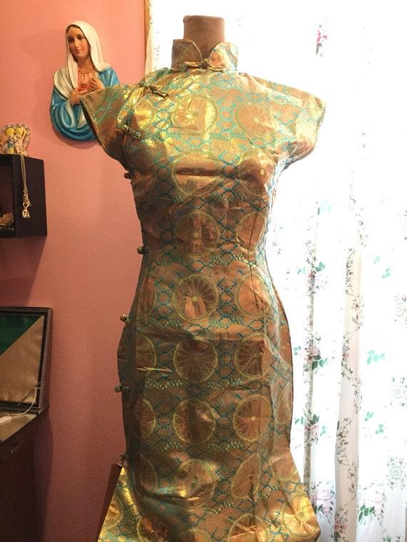 Vintage cheongsam dress