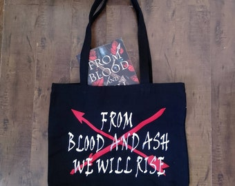 Tote bag inspired by From Blood and Ash by Jennifer L Armentrout