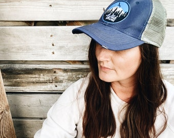 Wild + Free Vintage Distressed Hat with Patch