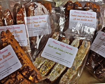 Biscotti-2 bags, 2 flavor choices-the best biscotti ever!-christmas cookies,christmas breakfast