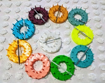 DIY Flower Loom Technique, Round Loom Tool, How to make Shapes for making circular flowers, Creating Different Shapes, weaving, rose pedals