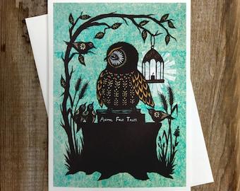 The Storyteller - Greeting Card
